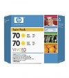 HP 70 (CB345A) yellow 2-pack (original HP) CB345A 030830