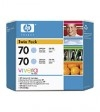 HP 70 (CB351A) light cyan 2-pack (original HP) CB351A 030802
