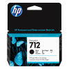 HP 712 (3ED70A) black ink cartridge (original HP) 3ED70A 093106