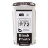 HP 72 (C9397A) photo black ink cartridge (123ink version) C9397AC 030881