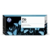 HP 730 (P2V72A) high capacity grey ink cartridge (original) P2V72A 055270