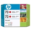 HP 73 (CD952A) chromatic red 2-pack (original HP) CD952A 030854