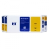 HP 81 (C4993A) yellow value pack (original HP) C4993A 031535