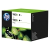 HP 940XL (D8J48AE) high capacity black ink cartridge 2-pack (original HP) D8J48AE 044342