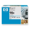 HP 98X (92298X) high capacity black toner (original HP) 92298X 032032