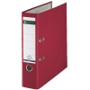 Leitz 1010 plastic binder, 80mm red