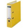 Leitz 1010 yellow lever arch file, 80mm
