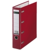 Leitz 1012 plastic bank giro binder, 75mm red
