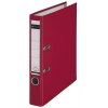 Leitz 1015 plastic binder, 50mm red
