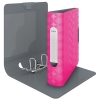 Leitz 1133 Retro Chic binder fuschia 75mm