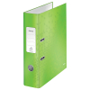 Leitz 180° WOW green lever arch file, A4, 80mm 10050054 202998