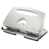 Leitz 5132 Grey 4-hole Punch, 4mm/40 sheets