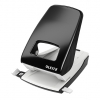 Leitz 5138 Black 2-Hole Punch, 4 mm/40 sheets