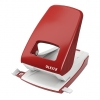 Leitz 5138 red 2-Hole Punch, 4 mm/40 sheets