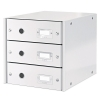 Leitz 6048 white, 3 drawers