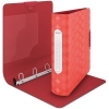 Leitz Retro Chic neon red ring binder with 4 D-rings 42560020 211276