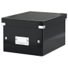 Leitz WOW 6043 black small filing box