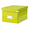 Leitz WOW 6043 metallic green small filing box 60430064 211148
