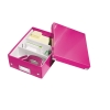 Leitz WOW 6057 pink metallic archive box