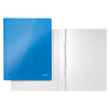 Leitz WOW metallic blue flat file 30010036 202888