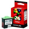 Lexmark 10N0026 (#26) high-cap. colour ink cartridge (original Lexmark) 10N0026E 040180