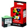 Lexmark 10N0227 (#27) colour ink cartridge (original) 10N0227E 040175