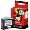 Lexmark 10NX227 (#27) colour ink cartridge (original) 10NX227E 040174