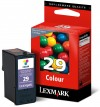 Lexmark 29 colour ink cartridge, original (18C1429) 18C1429E 040310