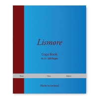 Lismore 120 page copy book 5-pack (822)  299080