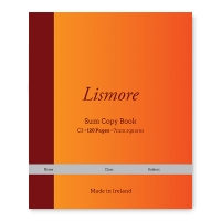 Lismore 120 page sum copy book 5-pack (825)  299083