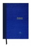 Lismore A4 120 Page stitched hardcover notebook blue (323)
