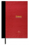 Lismore A4 120 Page stitched hardcover notebook red (323)