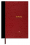 Lismore A4 400 Page stitched hardcover notebook red (328)  246179