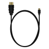 MediaRange HDMI cable, 1m, black MRCS146 361034