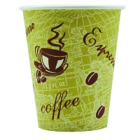 Nupik-Flo 12oz Single Wall Hot Cups, pack of 50  246020