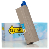 OKI 45396203 high capacity cyan toner (123ink version) 45396203C 036137