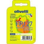 Olivetti B0203K (FPJ 27) 3-colour photo ink cartridge (original)