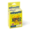 Olivetti B0218R (XP 02) high capacity 3-colour ink cartridge (original) B0218R 042310