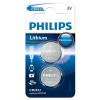 Philips CR2032 Lithium button cell battery 2-pack