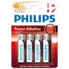 Philips Power Alkaline AA battery LR6 Mignon 4-pack LR6P4B/10 098300