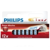 Philips Power Mignon AA LR6 Alkaline Battery 12-pack
