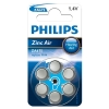 Philips ZA675 (PR44) blue hearing aid battery 6-pack ZA675B6A/10 098334