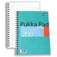 Pukka Jotta Metallic A4 Writing Pad 3-pack, 200 sheets, PP00022  246084
