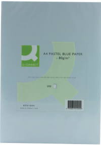 Q-Connect 80g Q-Connect KF01094 blue paper, A4, (500 sheets) KF01094 235103