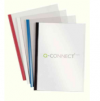 Q-Connect A4 5mm Slide Binder and Cover Set Black Hp 100 KF01940