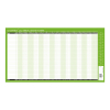 Q-Connect Holiday Planner Unmounted 754 x 410mm 2020, KFAHP20  299096
