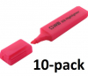Q-Connect KF01112 pink highlighter (10-pack)  500498