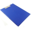 Q-Connect KF01301 blue PVC clipboard with cover