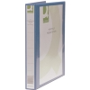 Q-Connect KF01327 blue A4 Presentation 4D ring binder 1-pack KF01327 246137