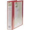 Q-Connect KF01330 red A4 Presentation 4D ring binder